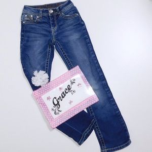 Justice Jeans Girls Size 8S Blue